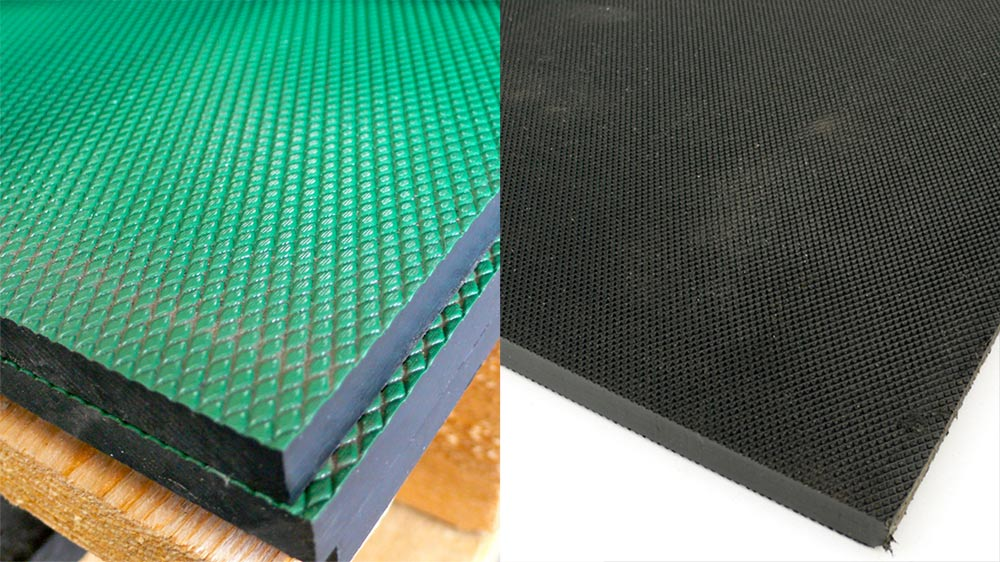 Stokboard sheet - black and green coated